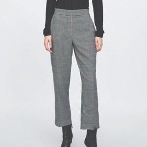 Zara Basic Houndstooth Pants